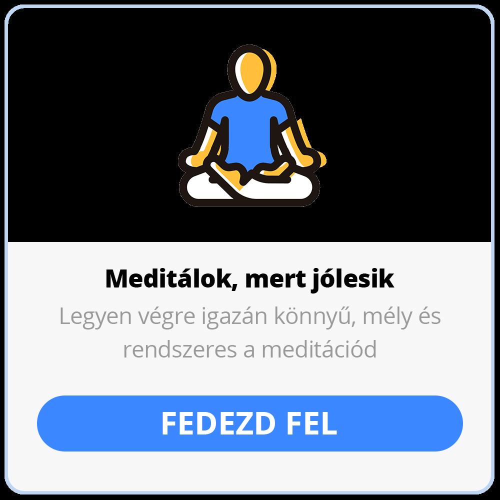 Meditálok online kurzus