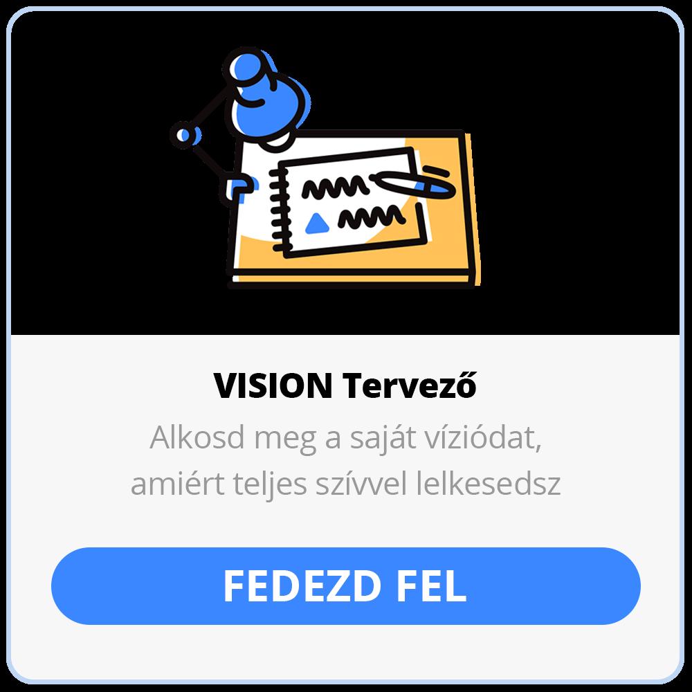 VISION Tervező online kurzus