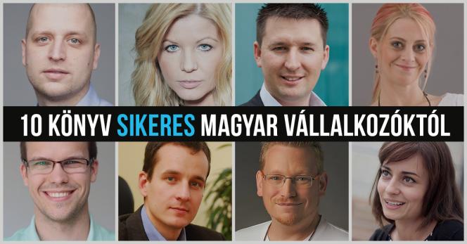 Sikeres magyar vállalkozók ezeket a könyveket ajánlják