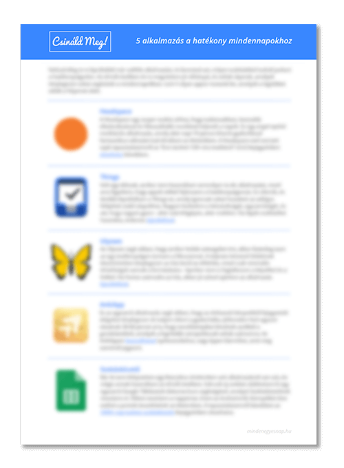 Appok listája