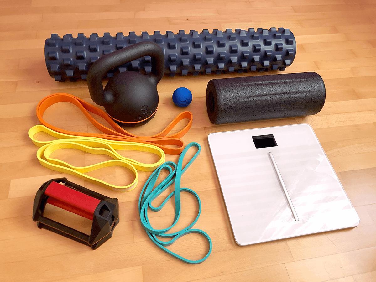 Eszközök otthoni edzéshez